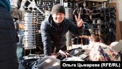 На рынке Хабаровска