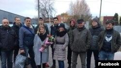 Диана Рудакова после выхода на свободу