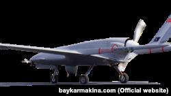 БПЛА Bayraktar ТВ2 виробництва турецької компанії Baykar Makina