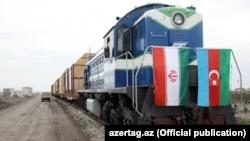 İranla Azərbaycan arasında ilk yük qatarı. 8 fevral 2018