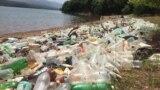 Илустрација: Расфрлано ѓубре околу Дебарското Езеро