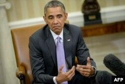 Президент США рассказывает прессе о своей реакции на речь Нетаньяху в Конгрессе, вечер 3 марта