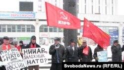 Сембер коммунистлары НАТО бүлегенә каршы иде. 2012 елның марты