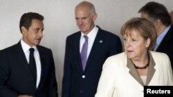 Саркози, Папандреу и Меркел