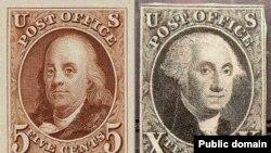 جورج واشینگتن و بنیامین فرانکلین