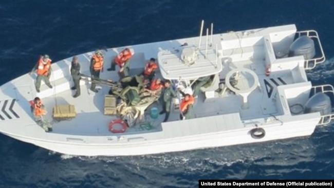 حمله به نفتکشها؛ پنتاگون تصاویر تازهای منتشر کرد