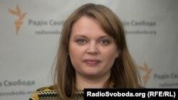 Юристка «Центру протидії корупції» Олена Щербан
