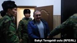 Албек Ибраимов сот учурунда. Ноябрь, 2019-жыл.