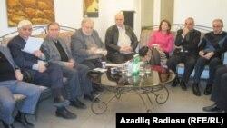 Члены Формуа интеллигенции, Баку, 1 февраля 2012