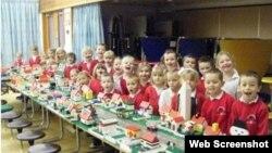 Дети в школе. Дания