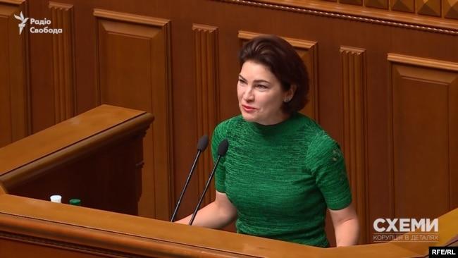 Отримавши депутатський мандат, Ірина Венедіктова вела активну депутатську діяльність в Раді