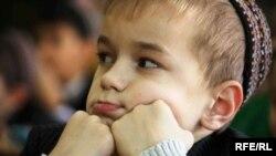 Туркменский школьник