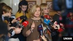Ірина Геращенко наголошує, що Київ готовий обміняти російських ув'язнених не своїх громадян