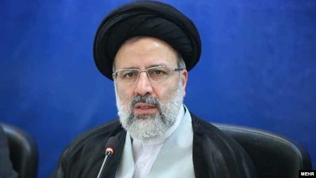 Iranian presidential candidate Ebrahim Raisi (file photo)
