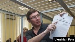 Юрій Луценко під час засідання Печерського районного суду Києва