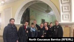 Туристы из Венгрии, Литвы и Германии в Чечне