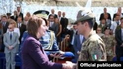 Ceremonia e ndërrimit të komandës
