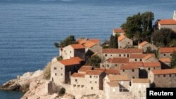 Emotions have been running high over a medieval church at Montenegro's Sveti Stefan resort.
