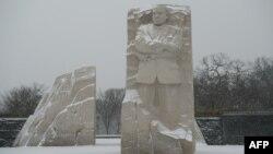Мемориал Мартина Лютера Кинга в Вашингтоне. 22 января 2016 года.