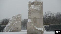 تندیس مارتین لوتر کینگ در واشینگتن