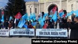 Истанбулдагы протест чарасы