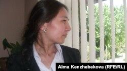 Алматинка Асель Сандыбатова.18 мая 2014 года.