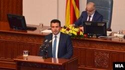 Мандатарот Зоран Заев ја образложи владината програма пред пратениците