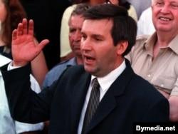 Віктар Ганчар, ліпень 1999