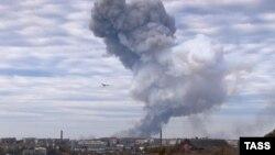 Donetsk şəhərində sursat zavodu partladılıb.Ukrayna
