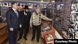 Леви Шабаев посетил Музей Холокоста
