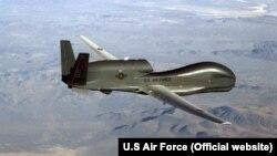 Апарат безпілотного літального комплексу ВПС США RQ-4 Global Hawk