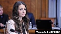 Ministrja e drejtësisë në Qeverinë e Serbisë, Nella Kuburoviq
