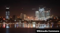 Անգոլայի մայրաքաղաք Լուանդան երեկոյան