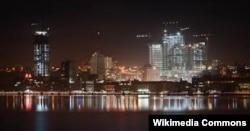 Современная панорама Луанды, столицы Анголы