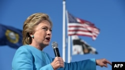 U.S. Democratic presidential candidate Hillary Clinton (file photo)