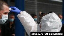 Koronavirusla yoxlama, arxiv foto