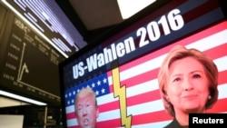 Германската берза реагира на изборите во САД, Берлин, 09.11.2016