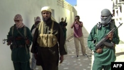 Pjesëtarë të grupit militant al Shabaab në Somali