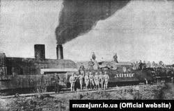 Панцерний потяг «Хортиця»