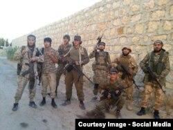 Боевики экстремистской группировки «Исламское государство». Кадр из видео.