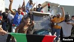 Повстанцы в Триполи