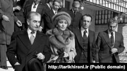 خروج شاه از ایران در آیینه تصویر