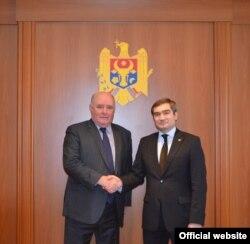 Grigori Karasin și Lilian Darie, Chișinău, 13 martie 2017