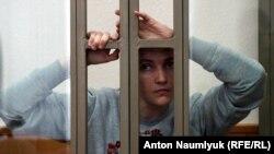 Надежда Савченко в суде, 27 января