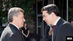 Претседателот Ѓорѓи Иванов и министерот Никола Попоски беа на самити на НАТО во Чикаго