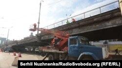 Шулявський шляхопровід до реконструкції 28 лютого 2017 року