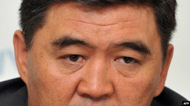 Ata-Jurt party leader Kamchybek Tashiev