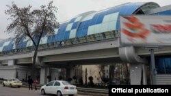 Хати метрои Тошканд.