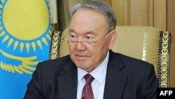 Қазақстан президенті Нұрсұлтан Назарбаев. Астана, 13 сәуір 2015 жыл.