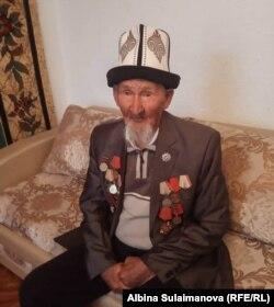Бардану Турдалиеву в этом году исполнилось 96 лет.